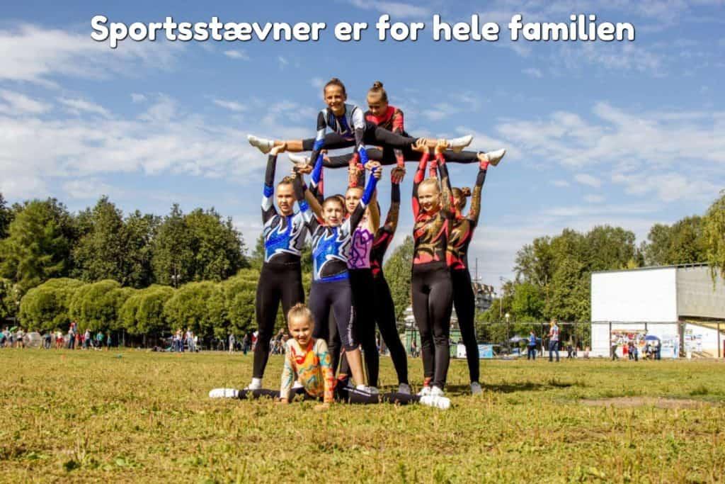 Sportsstævner er for hele familien