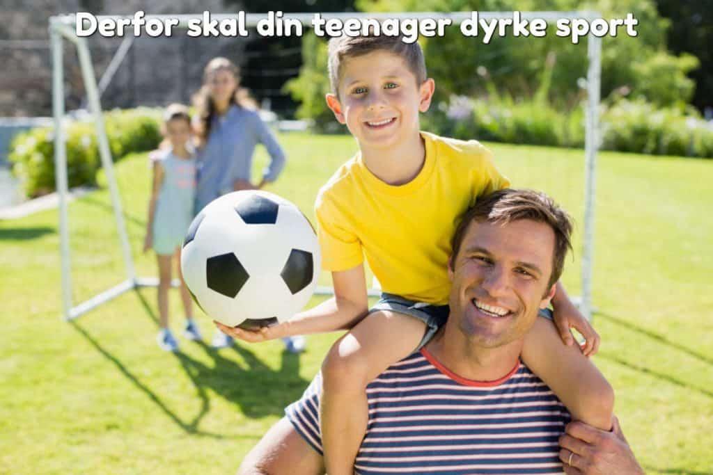 Derfor skal din teenager dyrke sport